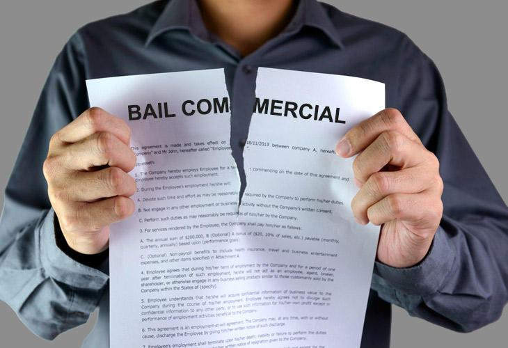 Comment rompre son bail commercial ?