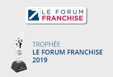 "Trophée ""Le Forum Franchise 2018"""