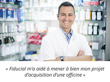 acquisition d'une officine
